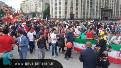 جوسازی رسانه مراکشی؛ ایرانیها با شعار دادن مقابل هتل به دنبال از بین بردن تمرکز مراکش!