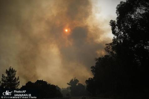آتشسوزی مجدد در مراتع ایذه با وزش باد