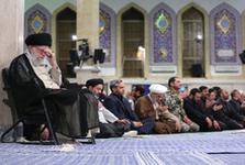 مراسم سوگواری شهادت حضرت امیرالمؤمنین علیهالسلام در حسینیه امام خمینی