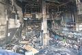 داروخانه پاستور ایرانشهر آتش گرفت