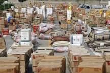 بیش از هفت میلیارد ریال کالای قاچاق در 2 شهرستان فارس کشف شد