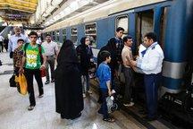 شمار مسافر و ضریب اشغال قطارهای خراسان افزایش یافت