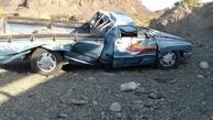واژگونی خودرو جان مادر باردار شیروانی را گرفت
