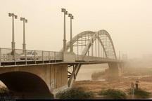 توده بزرگ ریزگرد عراقی امروز وارد خوزستان می شود