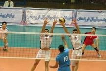 ادامه یکهتازی آذربایجانغربی در والیبال جوانان کشور