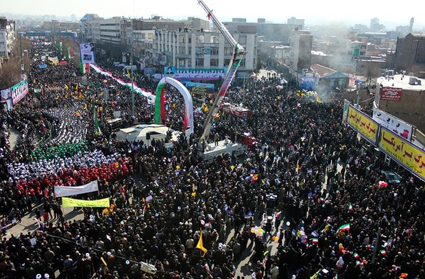 مردم آذربایجان شرقی در صف حضور