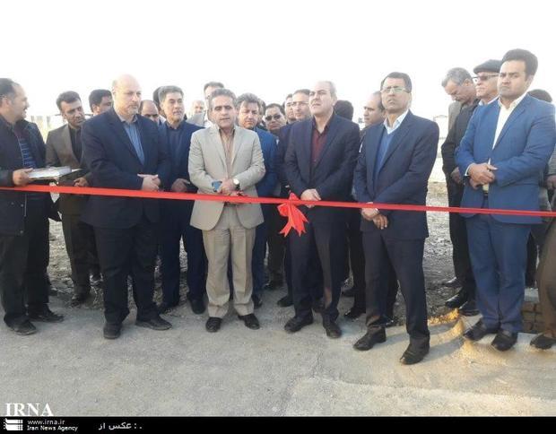 3 پروژه عمرانی و کشاورزی در ورامین افتتاح شد