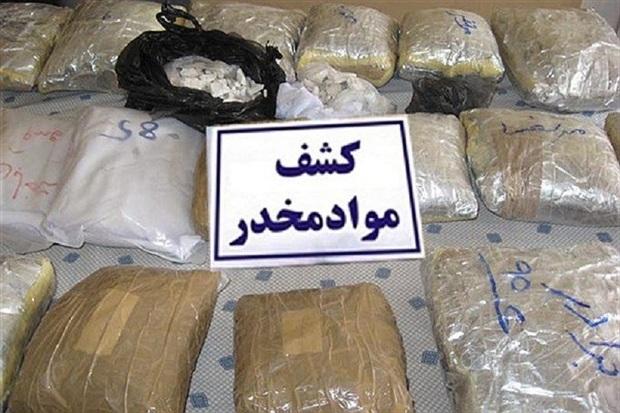 2 تن مواد مخدر امسال در خو رو بیابانک کشف شد