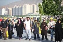 2 هزار خانواده تهرانی در همایش ورزشی شرکت کردند