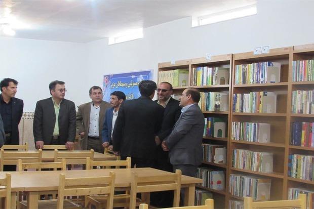ششمین کتابخانه خیری استان زنجان در خدابنده افتتاح شد