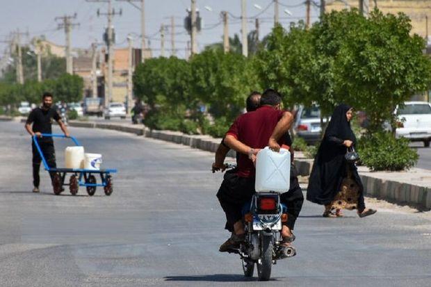 قطع آب مردم خرمشهر را با مشکل مواجه کرد