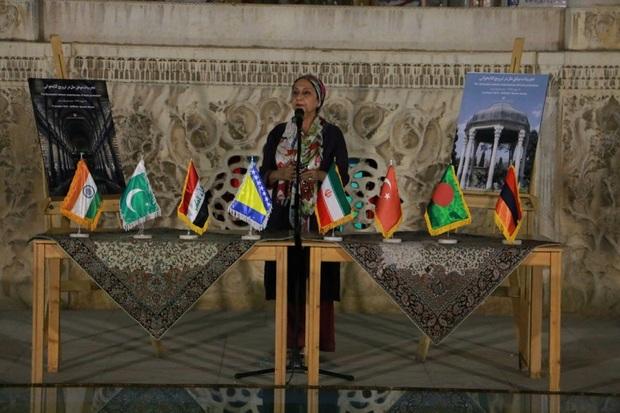 حافظ شیراز ، آوازه اش جهان گستر است