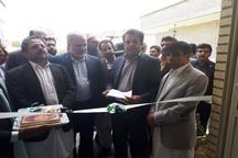 ستاد شبکه بهداشت و درمان شهرستان فنوج افتتاح شد