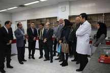 سرکنسولهای خارجی از موسسه علوم و صنایع غذایی دیدن کردند