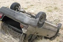 واژگونی پژو 206 در قزوین سه مجروح برجای گذاشت