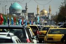 جمعیت مسافران ورودی به مشهد افزایش یافت