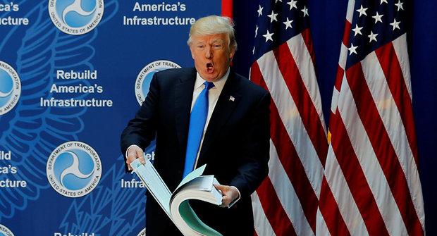 شکایت از ترامپ به دلیل دریافت پول از خارج