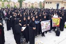 400 دانش آموز گچسارانی به مناطق عملیاتی اعزام شدند