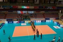 تبریز امکانات برگزاری مسابقات بین المللی والیبال را دارد