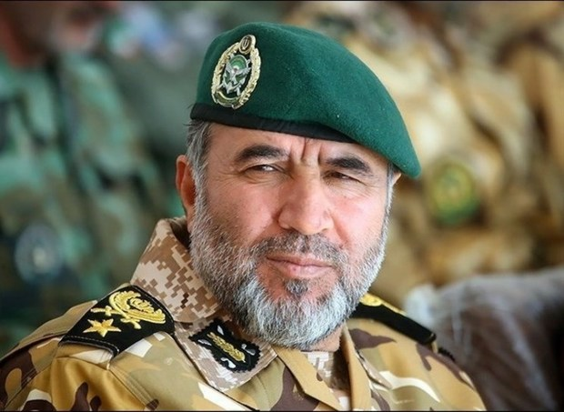 فرمانده نیروی زمینی ارتش: هیچ خطری کشور را تهدید نمی کند