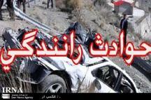 تصادف در ورودی قوچان یک کشته و یک مصدوم داشت