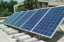 اولین نیروگاه برق خورشیدی در سقز وارد مدار شد