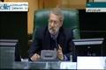 سخنان لاریجانی در پاسخ به تذکر علیرضا رحیمی در مورد مساله وضعیت عضویت سپنتا نیکنام عضو شورای شهر یزد
