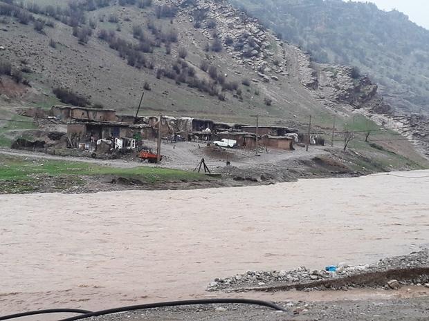 ساکنان حاشیه رودخانه های سلسله منازل خود را تخلیه کنند