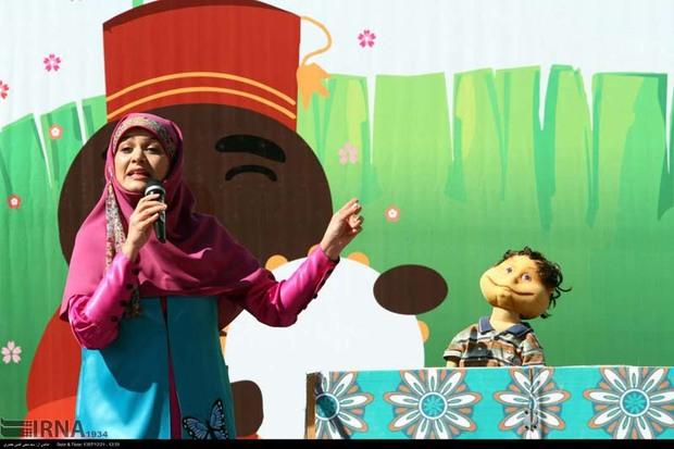 دومین برنامه جشن 'عمو نوروز' در قزوین برگزار شد