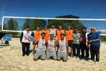 مسابقات جهانی کارگری  تیم ایران باحضور والیبالیست های ساحلی گلستان قهرمان شد