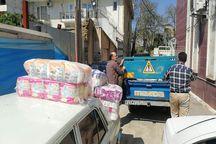 کمک های کانون وکلا به مناطق سیل زده آق قلا رسید