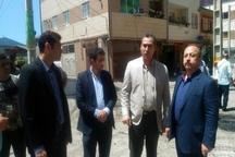 بازدید شهردار رشت از روند اجرایی زیرسازی و روکش آسفالت خیابان امیرکبیر رشت