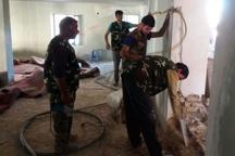 12 گروه جهادی به مناطق محروم میامی اعزام شدند