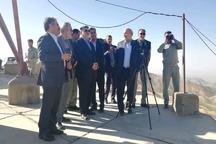 بازدید رئیس سازمان حفاظت محیط زیست از منطقه حفاظت شده درمیان و سربیشه