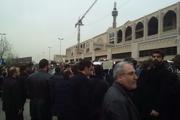 تشییع پیکر شهدای کشتی نفتکش سانچی در مصلی تهران