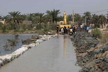 550 میلیون مترمکعب سیلاب در بیابانهای اطراف خرمشهر مهار شد