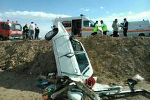 حادثه رانندگی در محور تبریز _ ارومیه 6 مصدوم به جا گذاشت