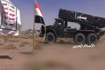 حمله موشکی انصار الله یمن به انبارهای نفتی عربستان