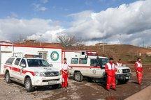 نیروهای امدادی جمعیت هلال احمر یزد در جاده ها مستقر شدند