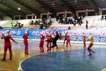 نتایج سومین روز رقابت های هندبال بانوان کشور اعلام شد