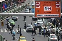 زمان اجرای طرح ترافیک تهران یک ساعت کاهش می یابد