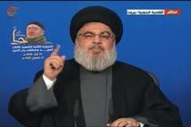 نصرالله: ایران قویتر از آن است که کسی با جنگ آن را هدف قرار دهد