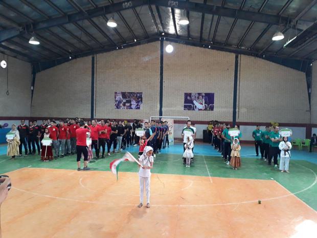 رقابت های فوتسال کشور در زاوه آغاز شد