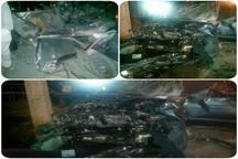 برخورد 2دستگاه خودرو سواری در اردکان یک کشته و هفت زخمی برجا گذاشت