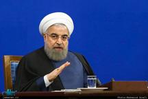 رئیسجمهور روحانی: خروج دولت آمریکا از برجام و انتقال سفارتخانهاش به قدس شریف دو اشتباه بزرگ و تاریخی واشنگتن است