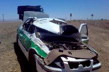 واژگونی خودروی ناجا در هندیجان یک کشته و 2 مجروح برجا گذاشت