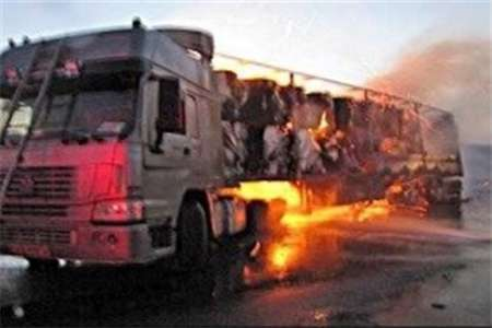 حادثه رانندگی ، جاده خرم آباد - پلدختر را مسدود کرد