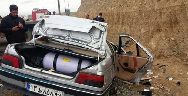 تصادف رانندگی در ایلام 2 کشته برجا گذاشت