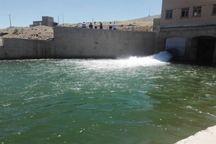 5.5 میلیون مترمکعب آب سد سنگ سیاه دهگلان رها سازی می شود