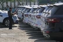 توقیف خودروی سواری قاچاق آزرا 5میلیارد ریالی در قشم